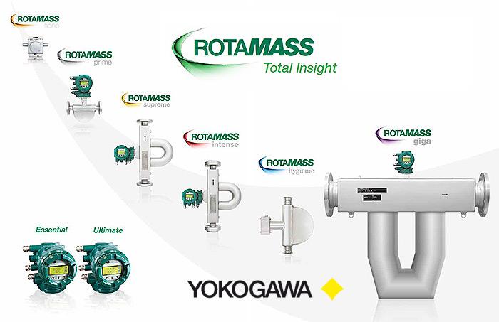 YOKOGAWA Série ROTAMASS TI